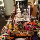 Collaborative Altar at Alfons Gallery. Photo taken By Ian